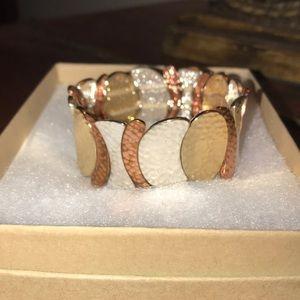 Tri-tone Flex Bracelet - One Size Fits All